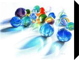 Blue Marble Reflection, Drawings / Sketch,Paintings, Photorealism,Realism, Composition,Decorative,Still Life, Painting,Pencil, By Carla Kurt
