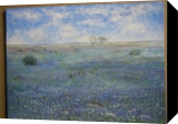 Blue Meadows - Spain, Paintings, Realism, Landscape, Oil, By Martine Norman