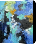 Blue Moon, Paintings, Abstract, Conceptual, Oil, By Sal Panasci