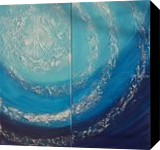 Blue ocean A088 Abstract Painting vertical wall art Acrylic Original Contemporary Art for Lounge, Office or above sofa by artist Ksavera, Decorative Arts,Multipanel Art,Paintings, Abstract,Commercial Design,Expressionism,Impressionism,Minimalism,Modernism, Celestial / Space,Composition,Conceptual,Decorative,Environmental art,Inspirational,Landscape,Seascape,Tropical, Acrylic,Canvas, By Ksavera Art