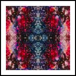Bluetec Mandala, Animation,Decorative Arts, Abstract,Hallucinogens, 3-D,Decorative, Acrylic,Digital, By Hendrik Reuss