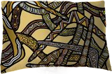 Boomerangs, Digital Art / Computer Art,Drawings / Sketch,Illustration, Fine Art, Botanical,Decorative,Multicultural / Ethnic, Digital,Pencil, By William (Bill) Gregory Ivinson