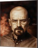 Breaking Bad (Heisenberg (Walter White)) speed drawing Portrait, Drawings / Sketch,Paintings, Expressionism,Fine Art,Photorealism,Realism, People,Portrait, Canvas,Charcoal,Mixed,Oil, By Stefan Pabst