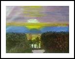Bridegroom, Paintings, Impressionism, Landscape, Oil, By MD Meiser