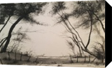 Broken Fence Pass Part 1, Paintings, Impressionism, Landscape, Watercolor, By Stephen Keller
