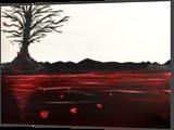 Broken Heart, Paintings, Fine Art, Conceptual, Acrylic, By adam santana