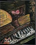 Broken Piano, Paintings, Fine Art, Music, Acrylic, By adam santana