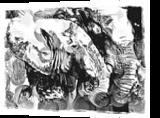 Buds, Digital Art / Computer Art, Abstract, Animals, Digital, By Joshua Bindseil