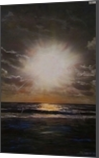Burst, Paintings, Impressionism, Seascape, Acrylic, By Marion Grant Freeman