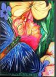 Butterfly Life, Paintings, Fine Art, Nature, Acrylic, By adam santana