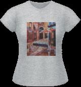 "Cafe ""Mimoza"", Paris, Paintings, Impressionism, Cityscape,Daily Life, Oil, By slobodan dusan paunovic"