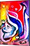 Calligraphy The Existence, Calligraphy, Abstract,Fine Art,Pop Art, Religious,Spiritual, Ink,Watercolor, By asm g ambia
