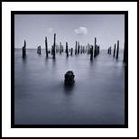 Calm sea, Photography, Abstract,Photorealism, Composition,Environmental art,Landscape,Seascape, Photography: Metal Print,Photography: Photographic Print,Photography: Premium Print,Photography: Stretched Canvas Print, By Benjamin Dupont