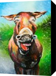 Can animals smile?, Paintings, Impressionism,Satire, Animals, Canvas,Oil, By Lyubov Kuptsova