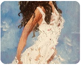 Can you see the sky?, Paintings, Expressionism,Fine Art,Impressionism,Modernism, 3-D,Figurative, Canvas, By Inna Montano