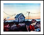 Cape Cod, Paintings, Fine Art, Figurative, Oil, By Corinne Marie Claude Tomas