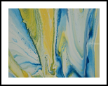 CARIBBEAN, Paintings, Abstract, Nature, Canvas, By William Birdwell