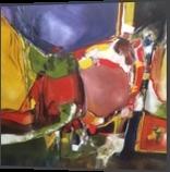 Carousel, Paintings, Abstract, Avant-Garde, Acrylic,Oil, By Joseph Culotta