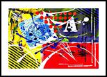 Carte Postale, Paintings, Abstract, Avant-Garde, Acrylic, By Sévi Cabell Maghee
