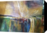 Cataclysm of Nature, Paintings, Abstract, Fantasy,Nature, Acrylic,Canvas,Oil, By Joseph Culotta