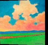 Changing Seasons, Paintings, Fine Art,Impressionism,Realism, Landscape, Acrylic,Canvas, By David John Edwards