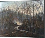 Chapel in the woods, Paintings, Impressionism, Landscape, Oil, By David Mather