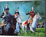 Charging French Dragoons, Paintings, Realism, Historical, Acrylic, By Adrian Harrison Arvin