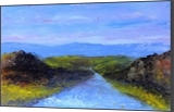 Cherry Road, Paintings, Impressionism, Landscape, Oil, By fred wilson