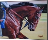 Chomping at the Bit, Paintings, Realism, Animals,Nature,Portrait, Acrylic, By Adrian Harrison Arvin