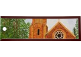 Church In Nainital, Paintings, Expressionism,Realism, Landscape, Canvas, By Ajay Harit