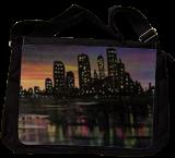 City Lights, Paintings, Fine Art, Cityscape, Acrylic, By adam santana