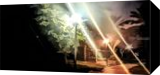 City Park at night 2, Photography, Photorealism, Landscape, Digital, By BENARY  IMAGE