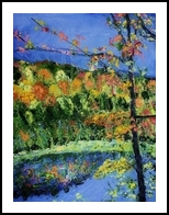 Clark Reservation #8, Paintings, Impressionism, Land Art, Painting, By Jim Richard Relyea