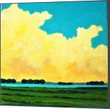 Cloudy Afternoon, Paintings, Fine Art,Impressionism,Realism, Landscape, Acrylic,Canvas, By David John Edwards
