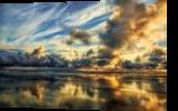 Cloudy Horizon, Photography, Fine Art,Photorealism, Landscape,Nature, Photography: Premium Print, By Mike DeCesare