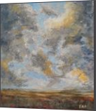 Cloudy sky after the storm, original acrylic painting 52x62cm, Paintings, Expressionism,Fine Art,Impressionism, Landscape,Moving Images,Nature, Acrylic, By Emilia Milcheva