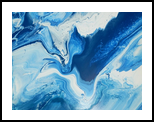 COBALT, Paintings, Abstract, Seascape, Canvas, By William Birdwell