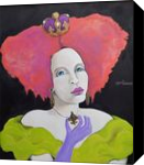 Collette of Monte Carlo, Paintings, Modernism,Realism, Fantasy,Figurative,Portrait, Acrylic, By Lynne L Bolton