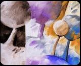 Colored landscape 025, Paintings, Abstract, Figurative,Floral,Landscape, Canvas,Oil, By Beatrice BEDEUR