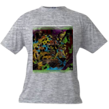 Colorful leopard, Digital Art / Computer Art, Abstract, Animals, Digital, By Joshua Bindseil