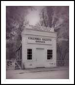 Columbia Gazette Office, Architecture, Fine Art, Architecture, Metal, By Barbara Ramsay MacPhail