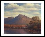 Connemara Landscape, Paintings, Fine Art, Landscape, Oil, By Sean Conlon