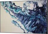 Cool Blue, Paintings, Abstract, Decorative,Seascape, Acrylic, By Halley Toft