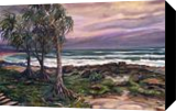 Coolum Beach, Australia, Paintings, Expressionism, Nature, Acrylic,Canvas, By Larysa Anatolievna Denysova