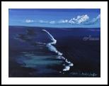 Coral reef, Paintings, Fine Art, Seascape, Canvas,Oil,Painting, By Claudia Luethi alias Abdelghafar