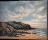 Crackington Haven, Paintings, Impressionism, Landscape, Oil, By David Mather