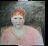 Cuban Lady, Paintings, Fine Art,Impressionism,Realism, Portrait, Canvas,Oil, By Mike Chaple