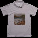 Cypress tree in Carmel, Paintings, Fine Art, Landscape, Canvas, By Lubov Pavluk
