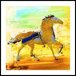 Dahis, Paintings, Fine Art, Animals, Canvas, By Bashir Abduljaber Ali Hajji
