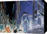 Daily rush, Digital Art / Computer Art, Romanticism, People, Digital, By Bernard Harold Curgenven